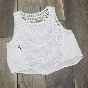 Divided tank top fits like a 4 or small